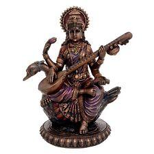 Saraswati Mata Idol - Sculpture Hindu Goddess of Knowledge, Music & Art