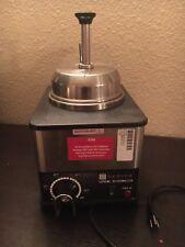 Server 81140 FSPW-SS Nacho Cheese/Fudge Topping Dispenser & Condiment Warmer