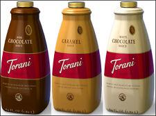 Torani Sauce [64 ounce] Multiple Flavores / Sugar Free Options