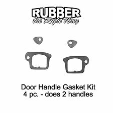 1971 - 1976 Buick Door Handle Gasket Kit - Does 2 Handles
