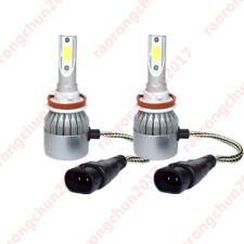 2x Bulbs H11 LED 8000Lm White 6500K Headlight Low Beam Toyota Avensis T27 08-18