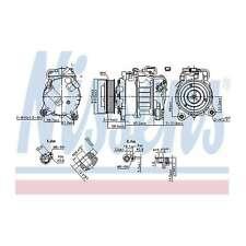 Fits BMW 1 Series F21 125i Genuine OE Quality Nissens A/C Air Con Compressor