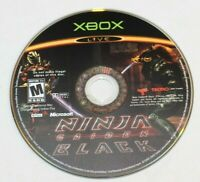 Ninja Gaiden Black Original Xbox Disc Only Tested! Disc is in GREAT Condition!