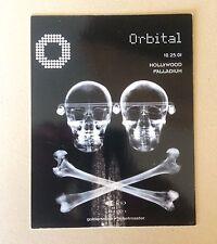 Orbital Gig Card Hollywood 2001 Mint