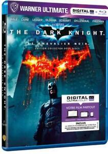 BLU RAY - BATMAN, THE DARK KNIGHT / EDITION COLLECTOR 2 DISQUES, DC COMICS, NEUF