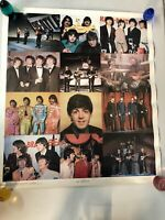 Vintage Rock n' Roll The Beatles  Collage 1979 Poster Photo Simonetti Music