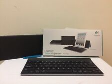Logitech Tablet Keyboard for iPad or iPhone - Bluetooth with case stand