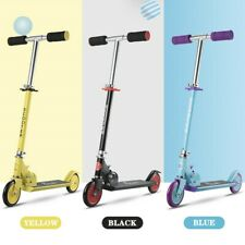 KIDS CHILD 6Y+ FOLDABLE SCOOTER PUSH KICK 2 WHEEL CAR OUTDOOR INDOOR RIDE ON TOY