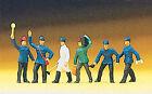 Figuren Preiser H0 (10010): 6 x Bahnpersonal