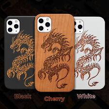 Dragon 2 Wood Case iPhone 13/12/11/11 Pro/Max/Mini, X/XR/XS Max