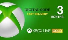 XBOX LIVE 3 MONTH GOLD MEMBERSHIP Code Key XBOX ONE / 360 [ 6 HR FAST DELIVERY ]