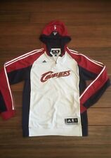 Adidas Clima 365 NBA Authentics Cavs Team Issued Full Zip Warmup Jacket Size: S