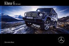 Mercedes G Class W463 05 / 2016 catalogue brochure
