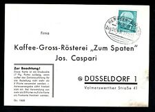 "Karte m/Bahnpoststempel "" Remagen-Adenau "" ; Zug 2043 - 27.12.1955 ."