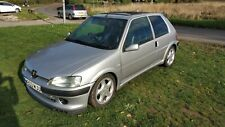 Peugeot 106 Quiksilver 1.6 Gti Engine fast road track MOT end July 21 no reserve