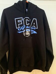 Men's Black Fellowship of Christian Athletes Sweatshirt (L)