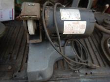 Older Lisle Drill Sharpener Grinder Motor And Base Casting Assembly