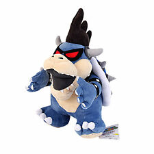 "New Super Mario Brothers Bros. Dark Bowser 12"" Plush Toy Doll Stuffed Animal"