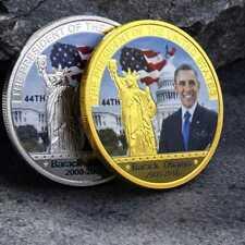 2PCS US American 44th President Barack Obama Eagle Commemorative Coin
