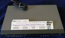 GO-VIDEO VCR DVD Combo Model DV2130 TESTED Works