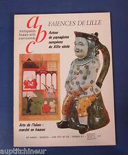 abc antiquités 152 faiences de lille paysagistes européens 19e arts de l'islam