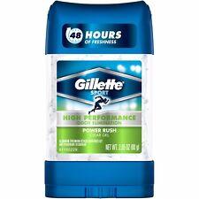 Gillette Sport Clear Gel Power Rush Anti-Perspirant / Deodorant Stick USA MADE