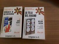 Hans kades/romanzo di un chirurgo-w.gibson/le tela del ragno- 2 libri 8 euro