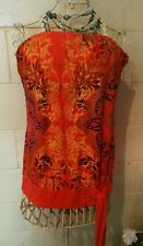 Gorgeous City Chic boho strapless summer top size M