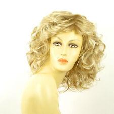 Perruque femme mi-longue blond méché blond très clair JAMELIA 15t613