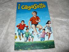 CINEMA BROCHURE FILM I CAGASOTTO M.GIULIANI L. LODDI CHEVALIER PIRETTI TAMBORRA