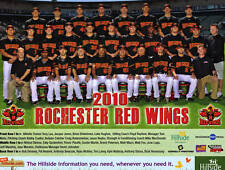 2010 Rochester Red Wings team photo picture 8.5 X by 10
