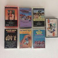 Beach Boys Whitney Houston Monkees Lot 7 Cassettes