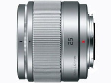=NEW= Panasonic Lens / LUMIX G 25mm F1.7 ASPH. Silver / H-H025-S