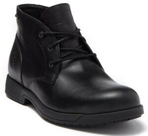 Timberland City's Edge Gore-Tex Chukka Men Waterproof Leather Boot Black US 10.5