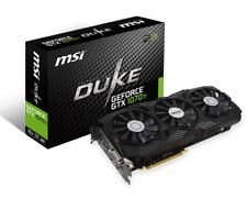 MSI Nvidia Duke GeForce 1080ti Graphics Card 11Gb Gpu Mining Gaming VR Ready NEW