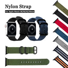 38-44mm iWatch Apple Watch Nylon Sport Loop Woven Strap Band Series1/2/3/4/5 UK