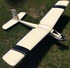 Vintage RC Kit Airplane with Kraft Remote (KP5K), Fox Engine 45BBRC, Parts