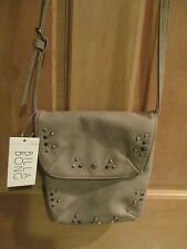 NEW* Billabong PURSE HANDBAG BAG HOBO Crossbody Tan Faux Leather