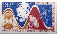 French polynesia polynésie 1976 222 u 291 IMP 1st telephone Call a G Bell MNH