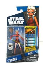 Star Wars 2010 Clone Wars Animated Action Figure CW No 17 Ahsoka Tano Hasbro Toys CW17