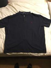 Mens XL Polo Ralph Lauren Navy Blue Shirt