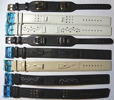 TO CLEAR   8x Accurist Cuff Style Leather Watch Straps.