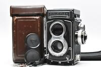 [RARE N.MINT in Case] Rolleiflex Rollei T TLR Camera Zeiss Tessar 75mm f3.5 Lens