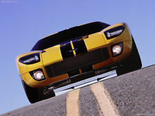 Ford Built GT GT40 Sport Race Car 1 Racing Racecar 18 Carousel Yellow 24 Model