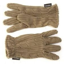 Ladies Gloves Sage Green Thermal Fleece One Size