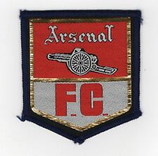 Original Vintage 1970s Football Sew On Patch Arsenal Cloth Badge Unused