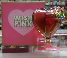 NIB*Victoria Secret~PINK~WISH PINK~Eau de Parfum 1.7 oz Rare Perfume heart peace
