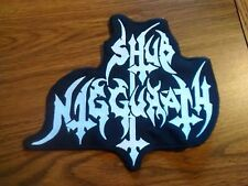 SHUB NIGGURATH,SEW ON WHITE EMBROIDERED LARGE BACK PATCH