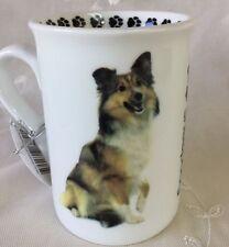 Shetland Sheepdog Coffee Tea Cup Dog Lover Rescue Shelter Pet Paws Vet 8 oz