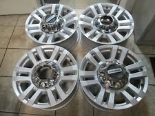 "18"" FORD F250 F350 SUPER DUTY FACTORY SILVER WHEELS RIMS TAKE OFFS"